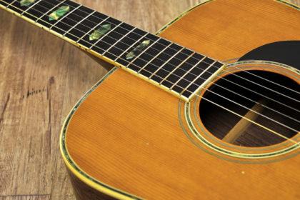 ギターの弦を緩めるか、緩めないか。(1)